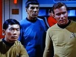 Sulu, Spock and Kirk
