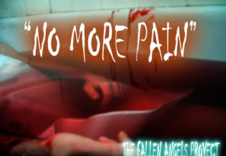 No More Pain - bathroom, fallen angels, ended, tile, blood