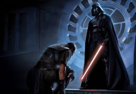 Darth Vader And His Apprence - awesome, cool, nice, beauitful