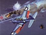 Battle of Midway : Akagi vs. SBD Dauntless.