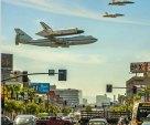 space shuttle in LA