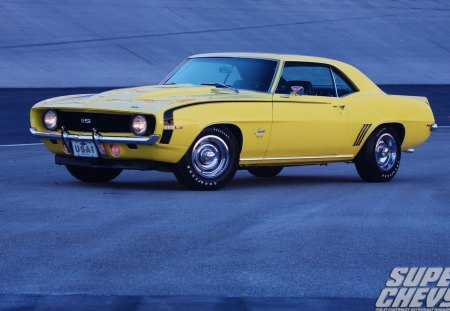69   SS  396 - classic, gm, bowtie, yellow