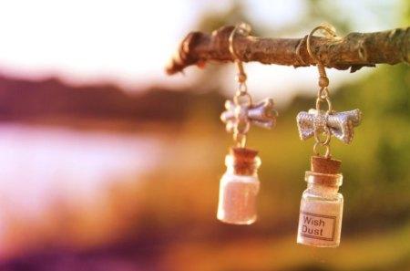 * Wish dust * - ribbon, magic, tree, wish, believe, bottle, imagine, dreams, dust