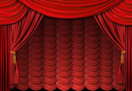 Open up the Curtains for Wallpapers - image, red curtain, curtain, fringes, nice, gold, multicolor, beauty, art, widescreen, curtains, golden, black, cinema, abstract, cool, multicolored, fabric, awesome, cine, photoshop, stuff, spectacular, red, colorful, movie, ambar, close, beautiful, artwork, picture, photography, bunting, texture, amber, wallpapers, open, stage, beije, photo, amazing, view, cloth, spectacle, colors, puller, made man, backgrounds, desktop, lines, colours, theatre, pc