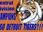 10/01/12 –  Detroit Tigers –  MLB Division Winners! (1 of 2)