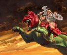 he-man & battle cat