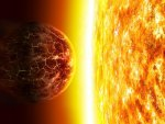Clashing of a Planet and Sun