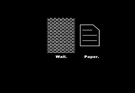 wallpaper - humor, paper, wall, wtf