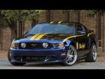 2012 ford mustang GT, blue angels edition