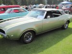 1969 Oldsmobile 442 s Muscle car
