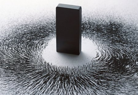 Weirdo Magnet - magnet, black, photography, abstract