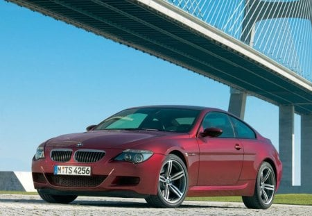 Untitled Wallpaper - m6, red, nice looking bmw
