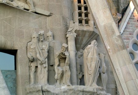Sagrada Familia of Antoni Gaudi 10 - architecture, religiously, religious, lord, religion, spiritual, cathedrale, spain, barcelona, gaudi, jesus, photography, statue, god, meditation