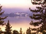 Lake Tahoe at twilight