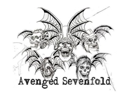 avenged sevenfold deathbat desktop