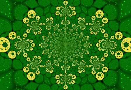 Bubble Kaleidoscope 5 - bubble, kaleidoscope, 3d, flower