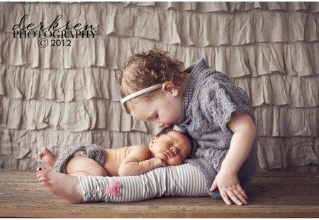 Sweet Sisters - nice, baby, sister, sweet