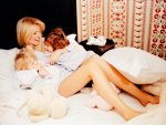Claudia Schiffer with children:)