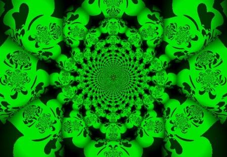 Jellyfish Kaleidoscope - kaleidoscope, mandala, jellfish, wallpaper, 3d