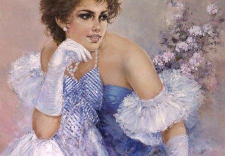Art - impressionist, romantic, painter, italian