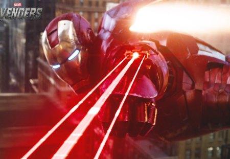 Iron Man Laser Beam Movies Amp Entertainment Background