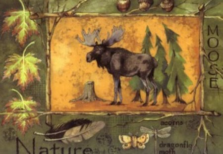 NORTHWOODS SPIRIT 2 - forest, moose, wisconsin, northwoods