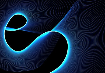 light curves 1 - curves, net, light, wallpaper