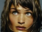 Helena Christensen - beauty eyes