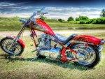 bikers bike hdr