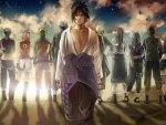 The pathway chosen by Sasuke