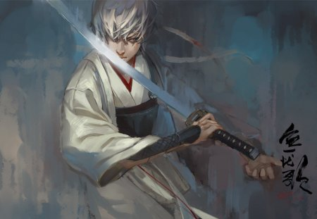 Gintama Samurai - gintama, anime, new, wall, classic