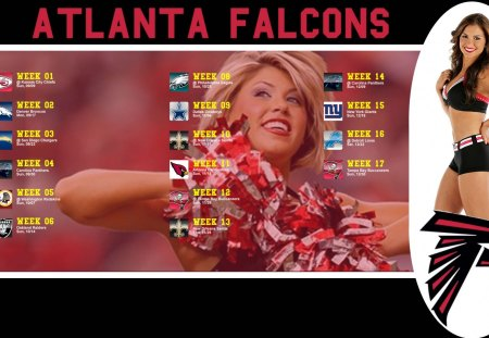 Atlanta Falcons cheerleader - sport, 2012, 16, atlanta, 10, picture