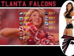 Atlanta Falcons cheerleader