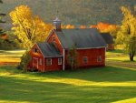 Country Red Schoolhouse