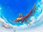 Skyward Sword Link On Loftwing