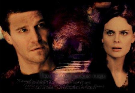 Bones- Booth & Brennan - TV Series & Entertainment Background