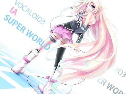 IA Sonico Theme - girl, volc, anime, new, beauty, wall, ia