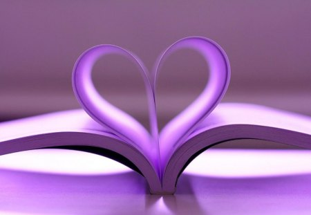 Wallpaper cute Purple Love : Book Of Love - Photography & Abstract Background Wallpapers on Desktop Nexus (Image 1210379)