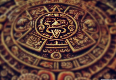 ClocK TickinG - photo, hot, clock, mayan