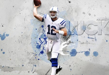 Andrew Luck Indianapolis Colts Qb Football Sports
