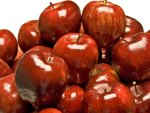 *** Shiny red apples ***