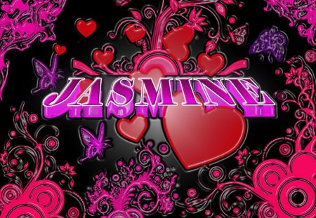 Jasmine Graffiti Abstract Background Wallpapers On
