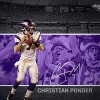 Christian Ponder Minnesota Vikings qb