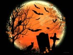 ♥     ☻ Magical Halloween Moon ☻     ♥