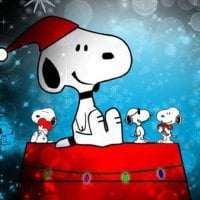 Snoopy at Christmastime