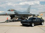 Camaro and F-16
