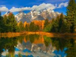 Autumn Reflections, Wyoming