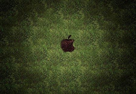 Green Apple - green, mac, apple