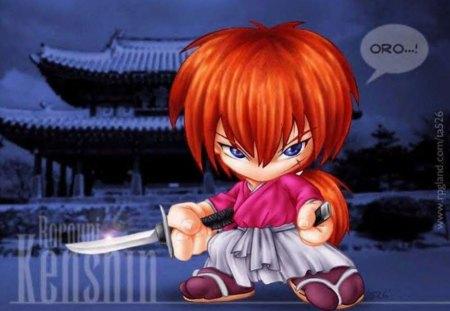 chibi kenshin - anime, rurouni kenshin