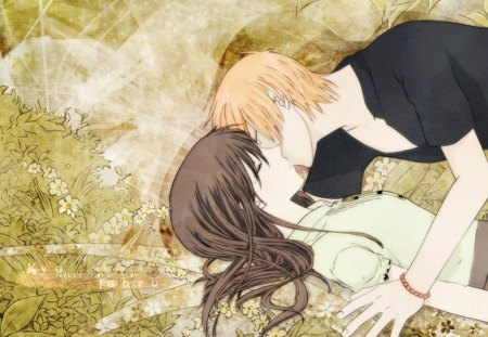 sweet kiss - tohru, manga, fruits basket, anime, kyo